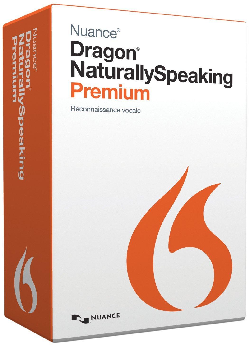Nuance - Dragon Naturally Speaking Premium pour l'écriture d'un e-book