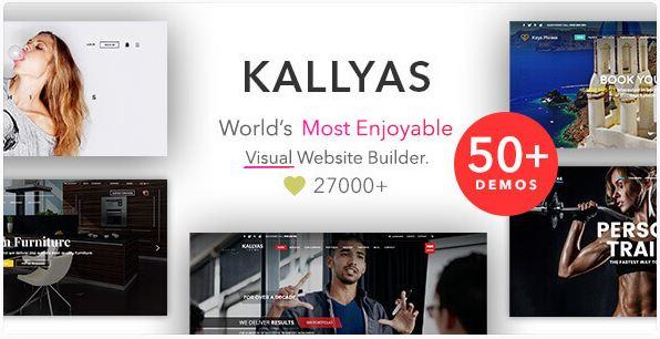 Kallyas template wordpress themeforest