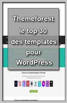 Themeforest le top 30 des templates pour choisir votre thème WordPress