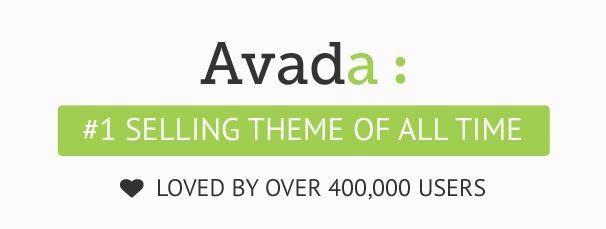 Avada thème WordPress themeforest