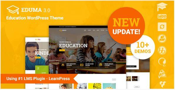 Éducation wordpress theme education themeforest