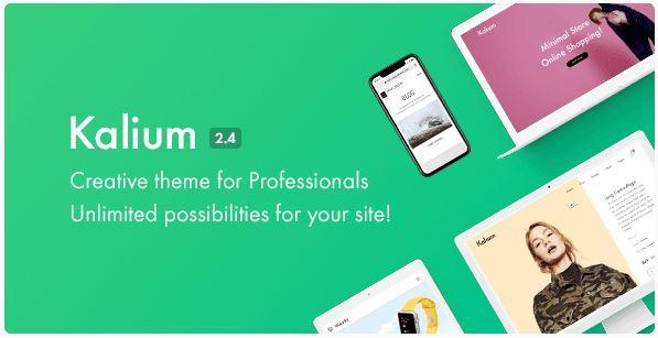 kalium theme wordpress themeforest