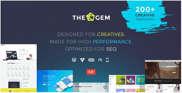 The Gem theme wordpress themeforest