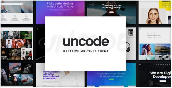 Uncode theme worpress themforest