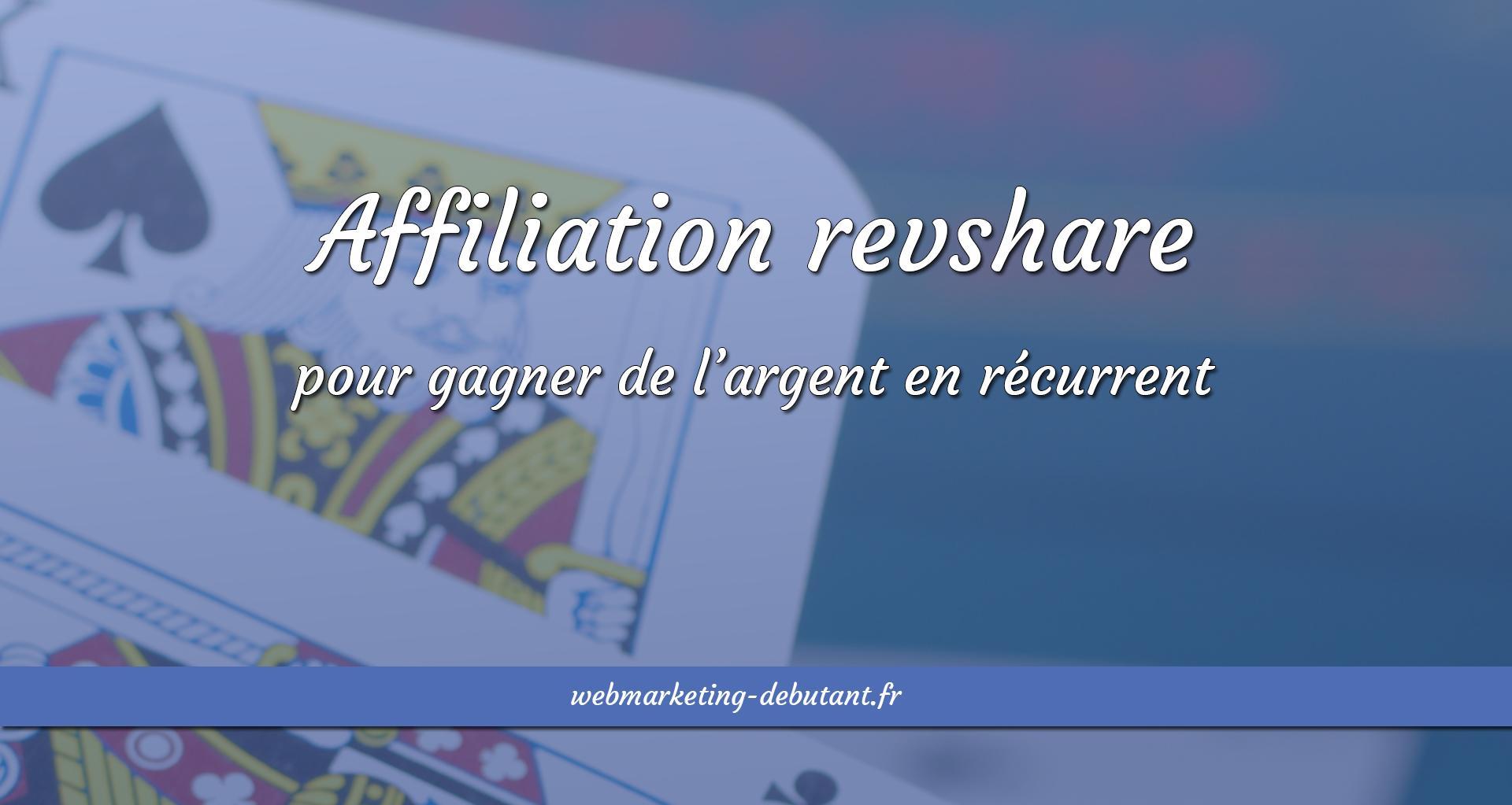 affiliation revshare