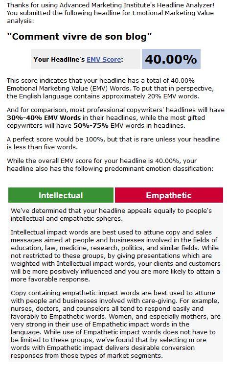 Emotional Marketing Value Score pour le référencement YouTube