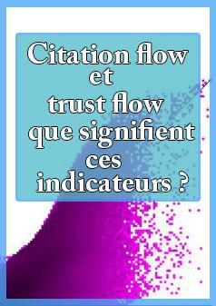 Citation flow et trust flow - que signifient ces indicateurs ?