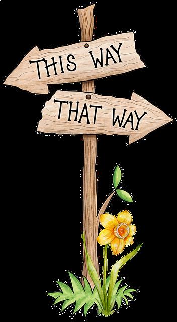 direction à prendre