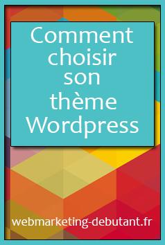 choisir un theme sur wordpress