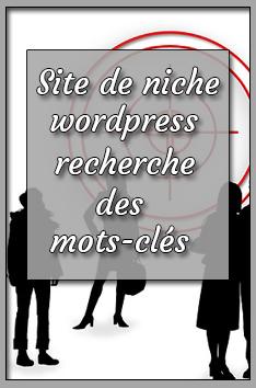 site de niche wordpress