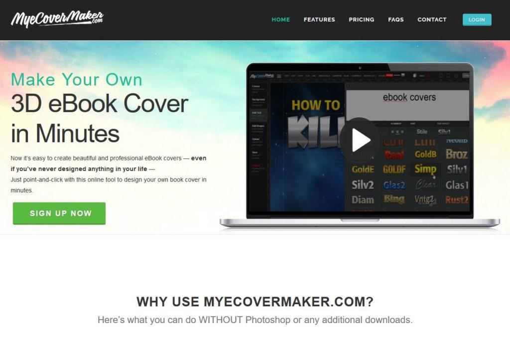 covermaker pour créer une couverture