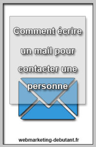 écrire un mail