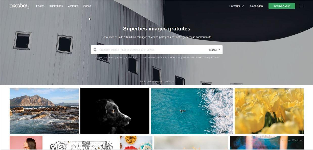 Pixabay la banque d'images pour une image libre de droit