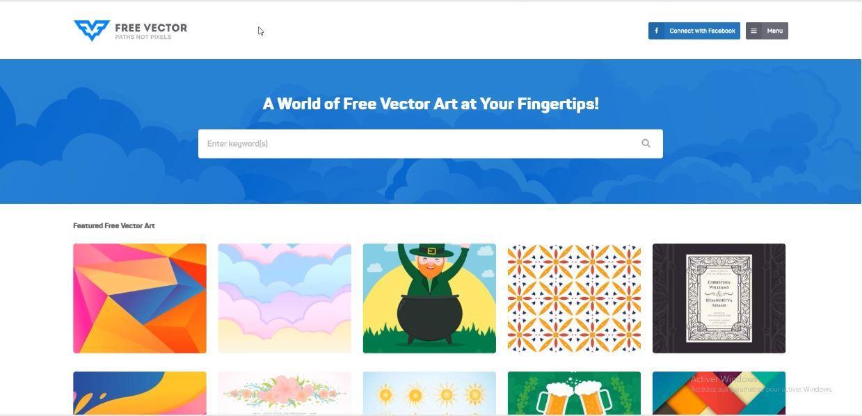 freevector la banque d'images vectorielles libre de droits