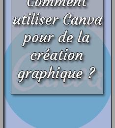 Canva pour la création graphique