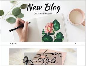 New blog, un thème wordpress gratuit