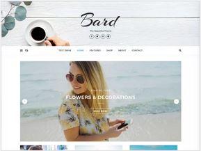 Bard un thème WordPress élégant