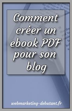 comment créer un PDF