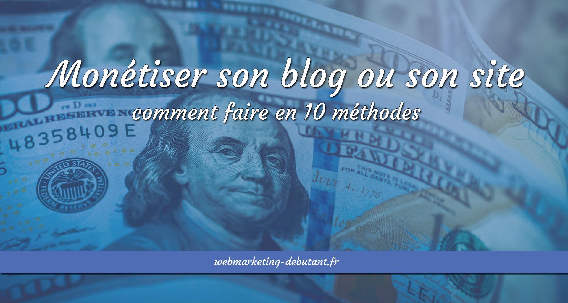 monétiser son blog ou son site