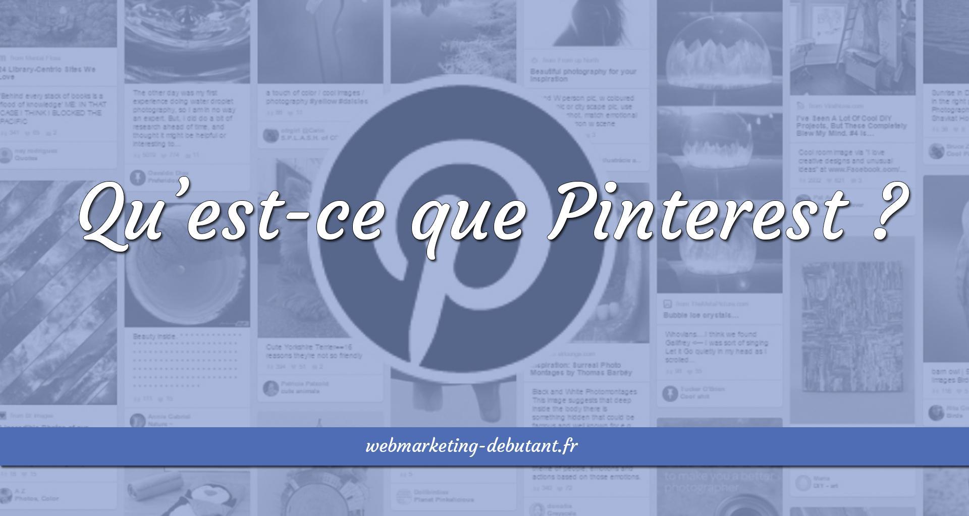 qu'est-ce que Pinterest