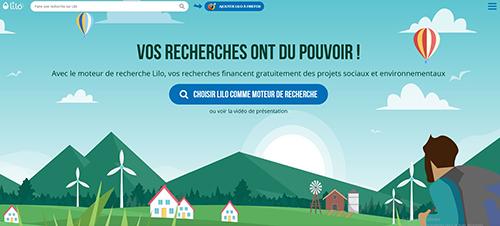 moteur de recherche Lilo