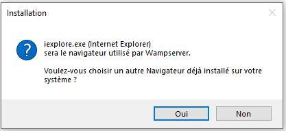 navigateur-par-defaut pour installer wordpress en local