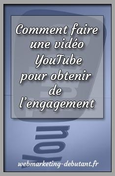faire une vidéo youtube