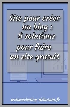 Site pour créer un blog wordpress