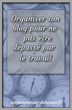 Organiser son blog