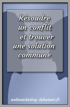 Résoudre un conflit