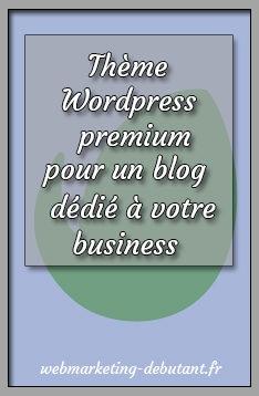 Thème Wordpress premium : pour un blog dédié à votre business