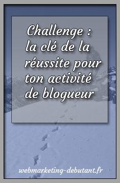 Challenge de blogueur