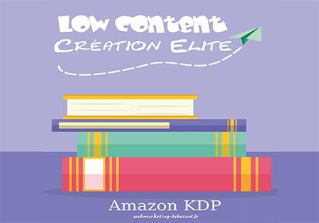 Élite de création à faible contenu