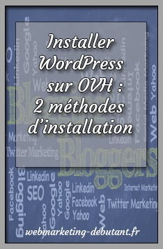 Installer WordPress sur OVH